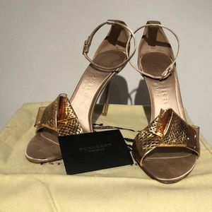 Burberry Prorsum Bow Berkeley 100 Sandal